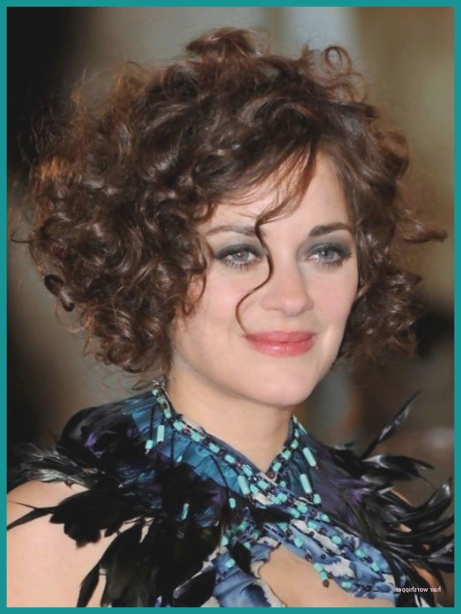 Luxury Short Hairstyles For Thick Curly Hair Round Face – Hair With Regard To Thick Curly Hair Short Hairstyles (View 19 of 25)