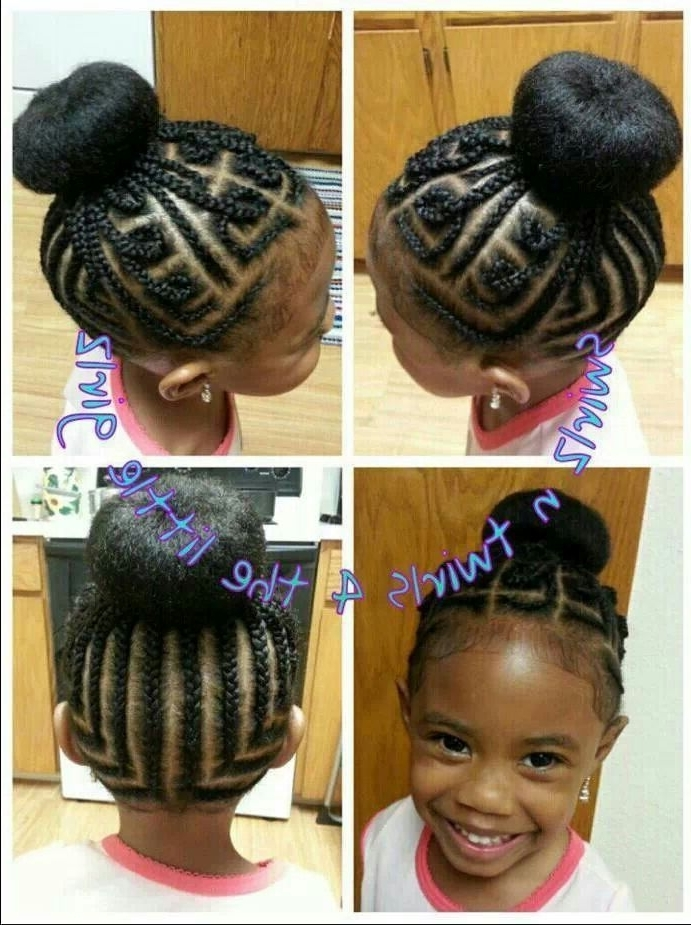 Maze Cornrows | Little Black Girls Hair | Pinterest | Hair Styles In Braided Maze Low Ponytail Hairstyles (View 17 of 25)