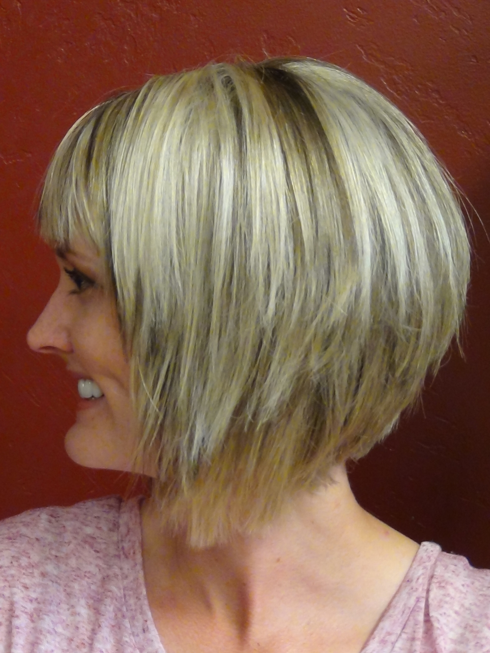 Medium Bob Hairstyles Back View – Hairstyle For Women & Man With Inverted Bob Short Haircuts (View 17 of 25)