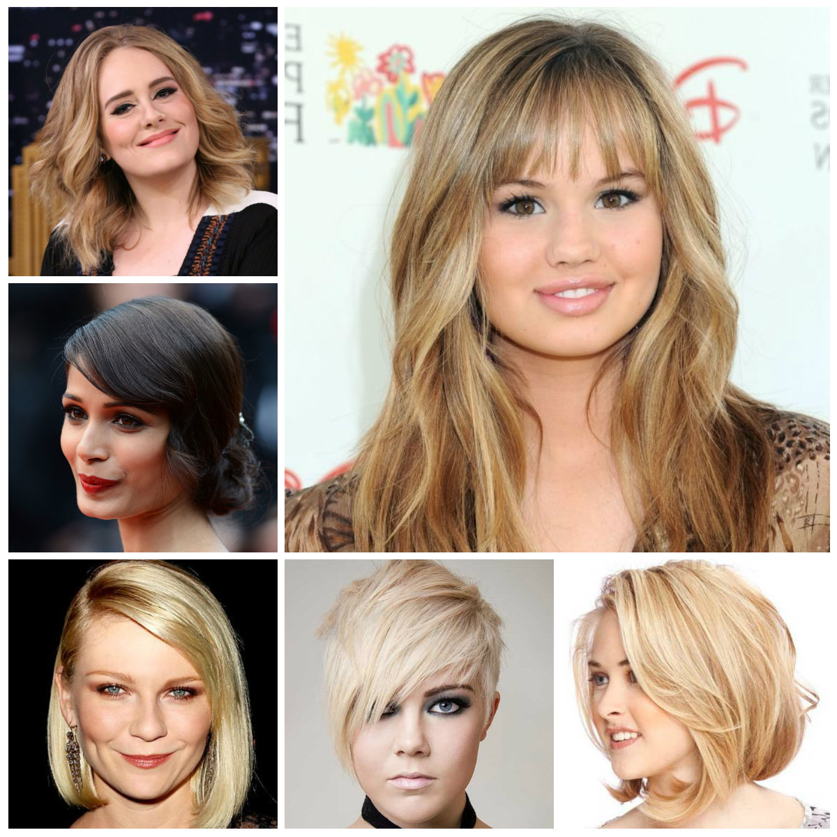 Medium Hairstyles For Chubby Faces – Hairstyle For Women & Man With Regard To Short Haircuts For Chubby Oval Faces (View 7 of 25)