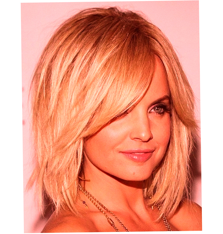 Medium Hairstyles For Round Faces Women Latest And Best 2016 Throughout Short To Medium Hairstyles For Round Faces (View 6 of 25)