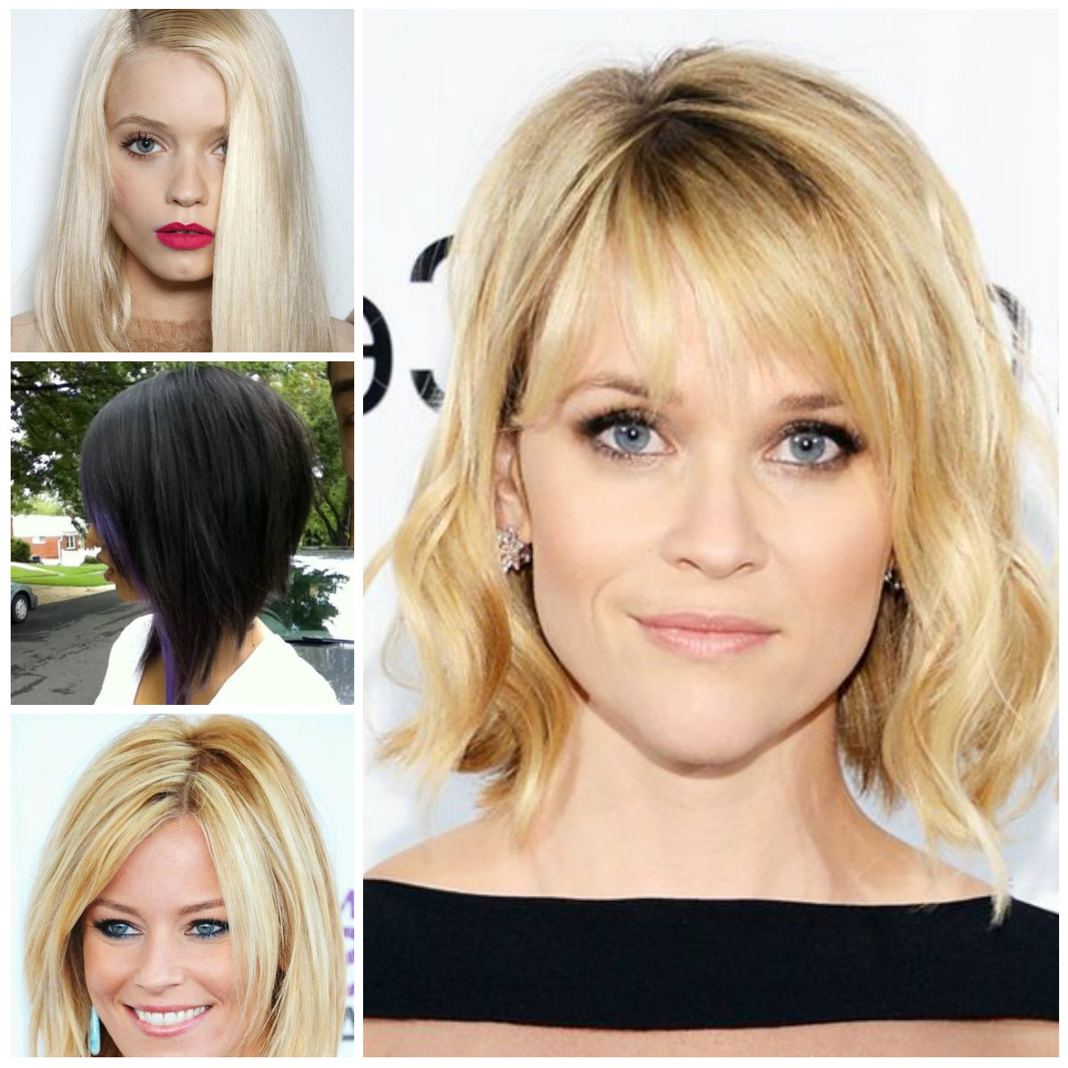 Medium Hairstyles | Haircuts, Hairstyles 2019 And Hair Colors For Pertaining To Short To Medium Hairstyles With Bangs (View 9 of 25)