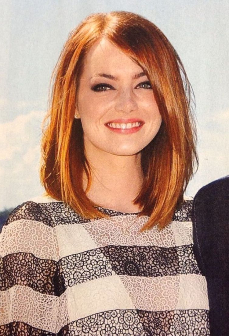 Medium Length Haircut For Round Face New Hairstyle 2014 Medium Regarding Medium Short Hairstyles Round Faces (View 14 of 25)