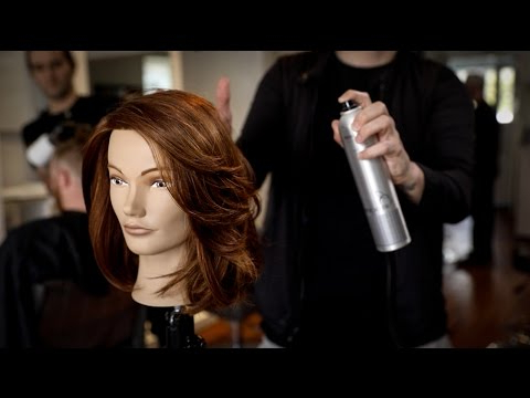 Medium Length Layered Haircut For Thick Hair | Matt Beck Vlog 103 Throughout Layered Haircuts For Thick Hair (View 23 of 25)
