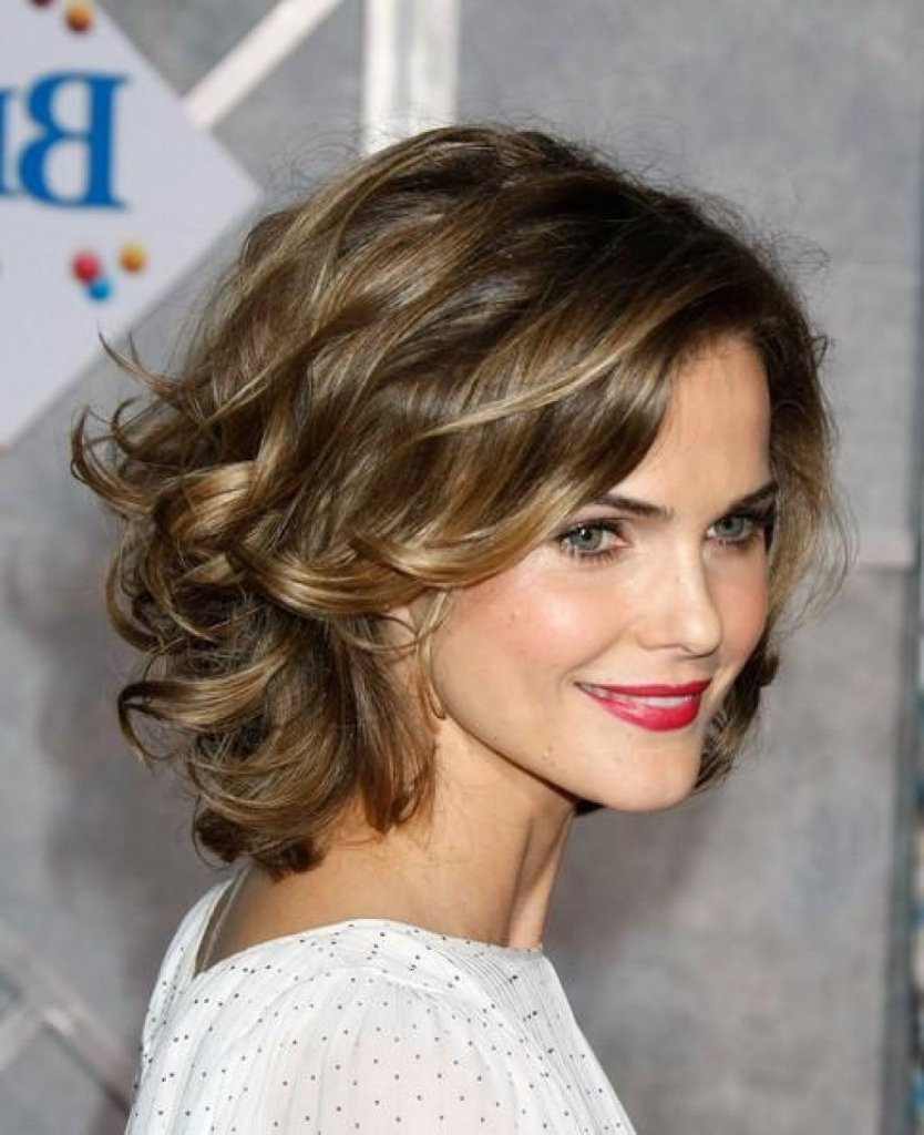 Medium Length Layered Hairstyles Fine Hair Throughout Short Curly Hairstyles For Fine Hair (View 10 of 25)