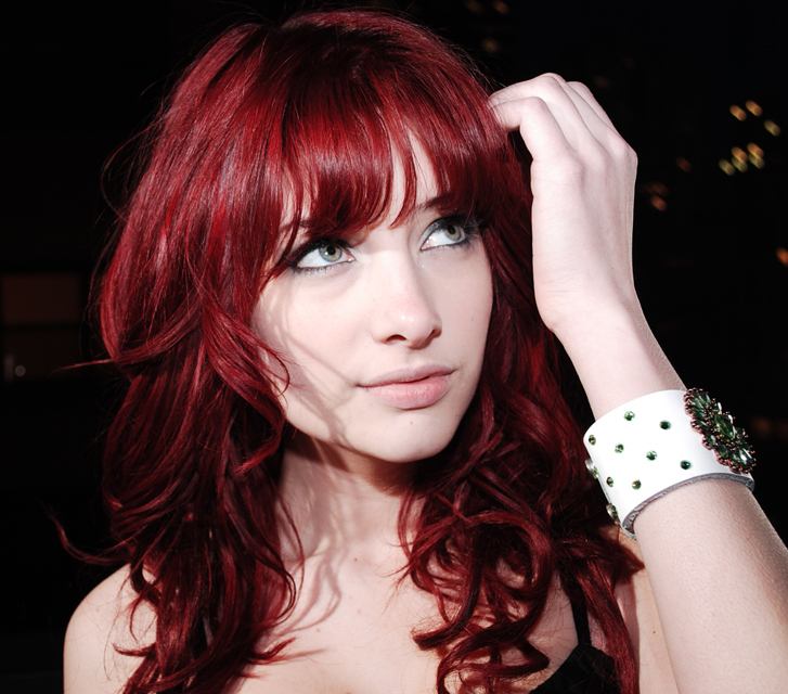 Medium Length, Red Hairstyle With Wispy Bangs | Hairstyles | Hair For Short Red Haircuts With Wispy Layers (View 19 of 25)