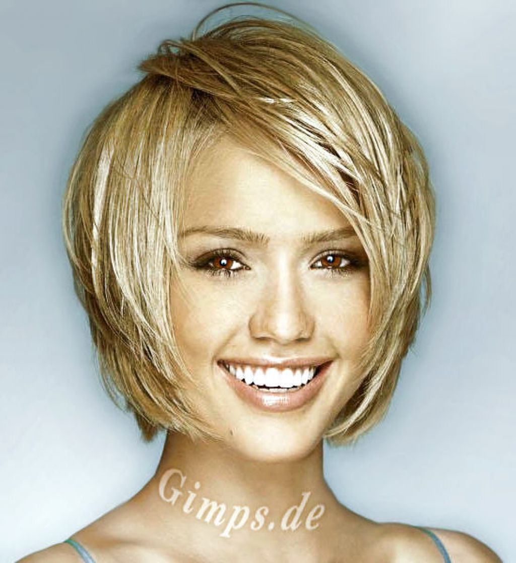 Medium Short Hairstyles For Thick Hair – Best Short Hair Styles For Medium To Short Hairstyles Over (View 20 of 25)