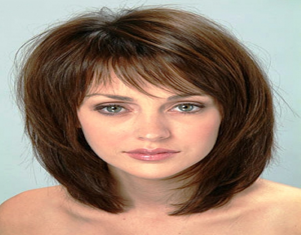 Medium Short Hairstyles For Thick Hair – Hairstyle For Women & Man Intended For Short Medium Haircuts For Thick Hair (View 3 of 25)