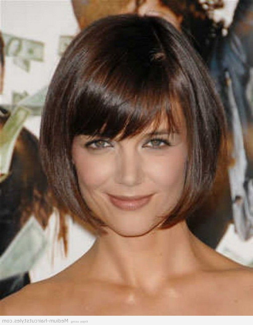 Medium Short Hairstyles Round Faces Of The Best Hairstyles For Fine Inside Medium Short Hairstyles For Round Faces (View 19 of 25)