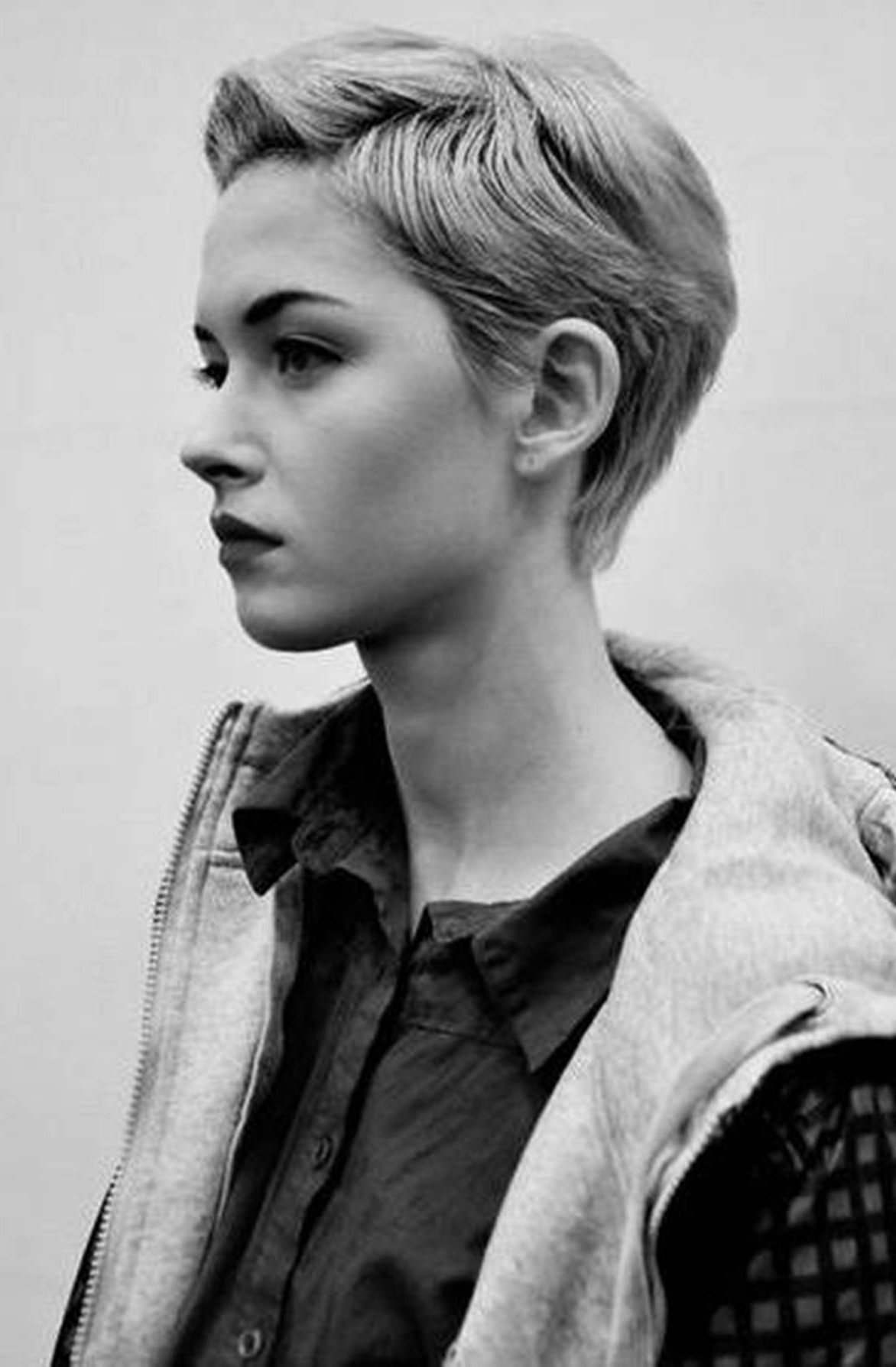 Mesmerizing Half Shaved Hairstyles Short Hair Also Shaved Haircuts Regarding Short Hairstyles One Side Shaved (View 11 of 25)
