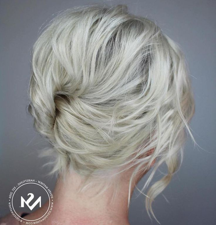 Messy French Twist For Short Hair | Short Hairstyle | Pinterest With Regard To Short Messy Hairstyles With Twists (View 8 of 25)