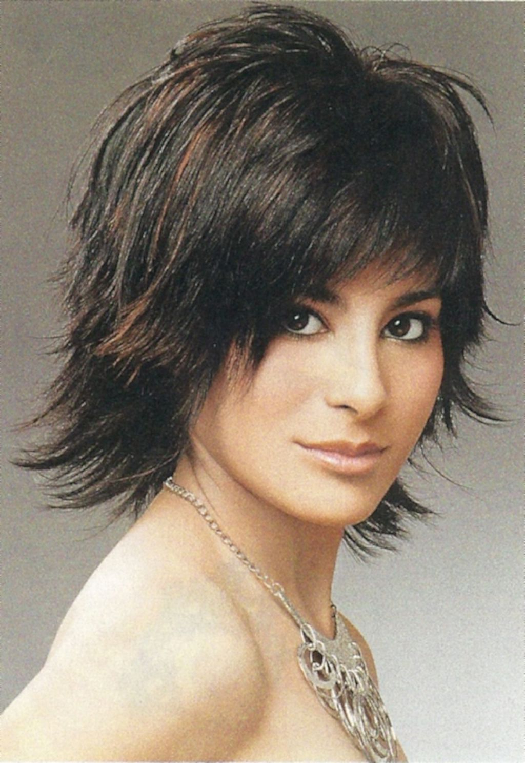 Messy Shaggy Hairstyles For Women | Shag Hairstyles , Short To With Short To Medium Shaggy Hairstyles (View 6 of 25)