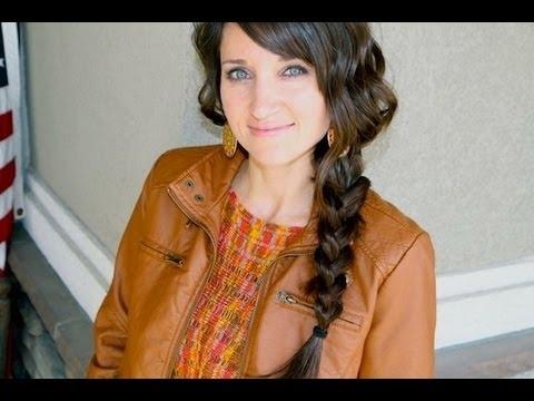 Messy Side Braid | Cute Girls Hairstyles – Youtube Regarding Simple Messy Side Ponytail Hairstyles (View 16 of 25)