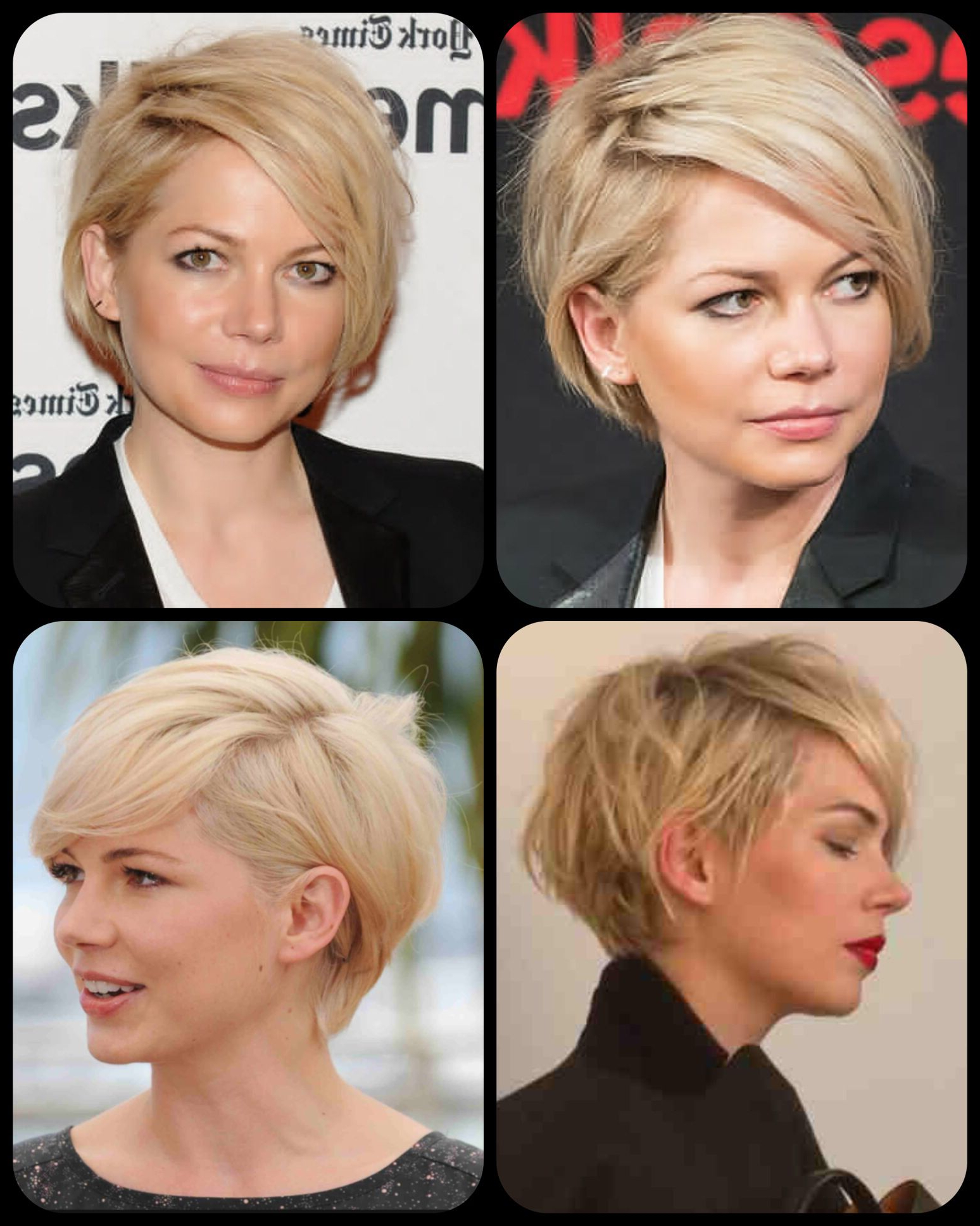 Michelle Williams' Grown Out Pixie Cut | Hair | Pinterest | Hair Regarding Short Hairstyles For Growing Out A Pixie Cut (View 4 of 25)