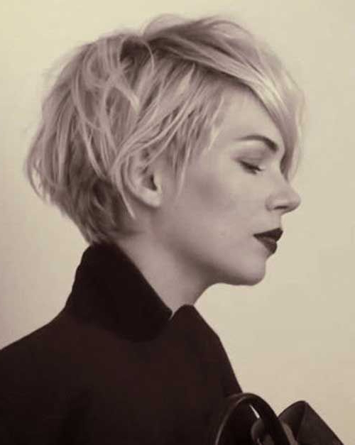 Michelle Williams Long Pixie Haircut | Peinados | Pinterest | Short In Messy Pixie Hairstyles For Short Hair (View 5 of 25)