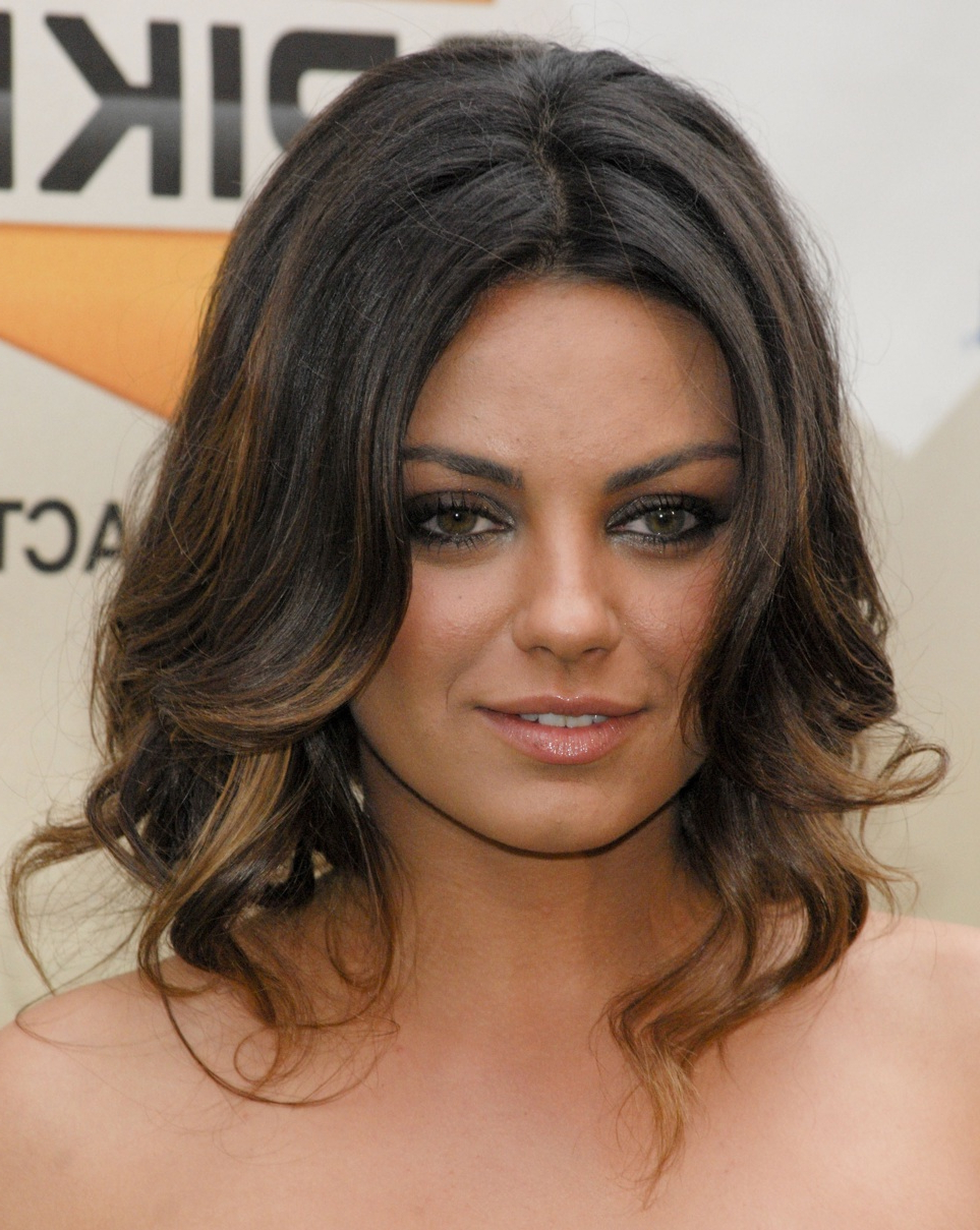Mila Kunis – Couture Hairfile   Hair Couture International Inside Mila Kunis Short Hairstyles (View 24 of 25)