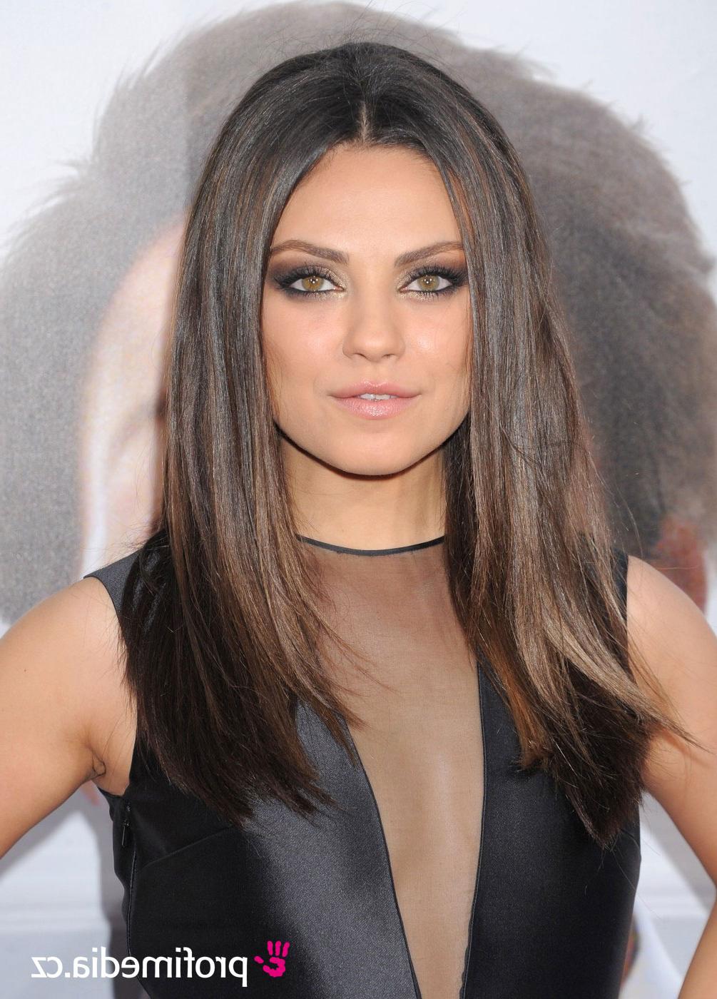 Mila Kunis – – Hairstyle – Easyhairstyler With Regard To Mila Kunis Short Hairstyles (View 19 of 25)