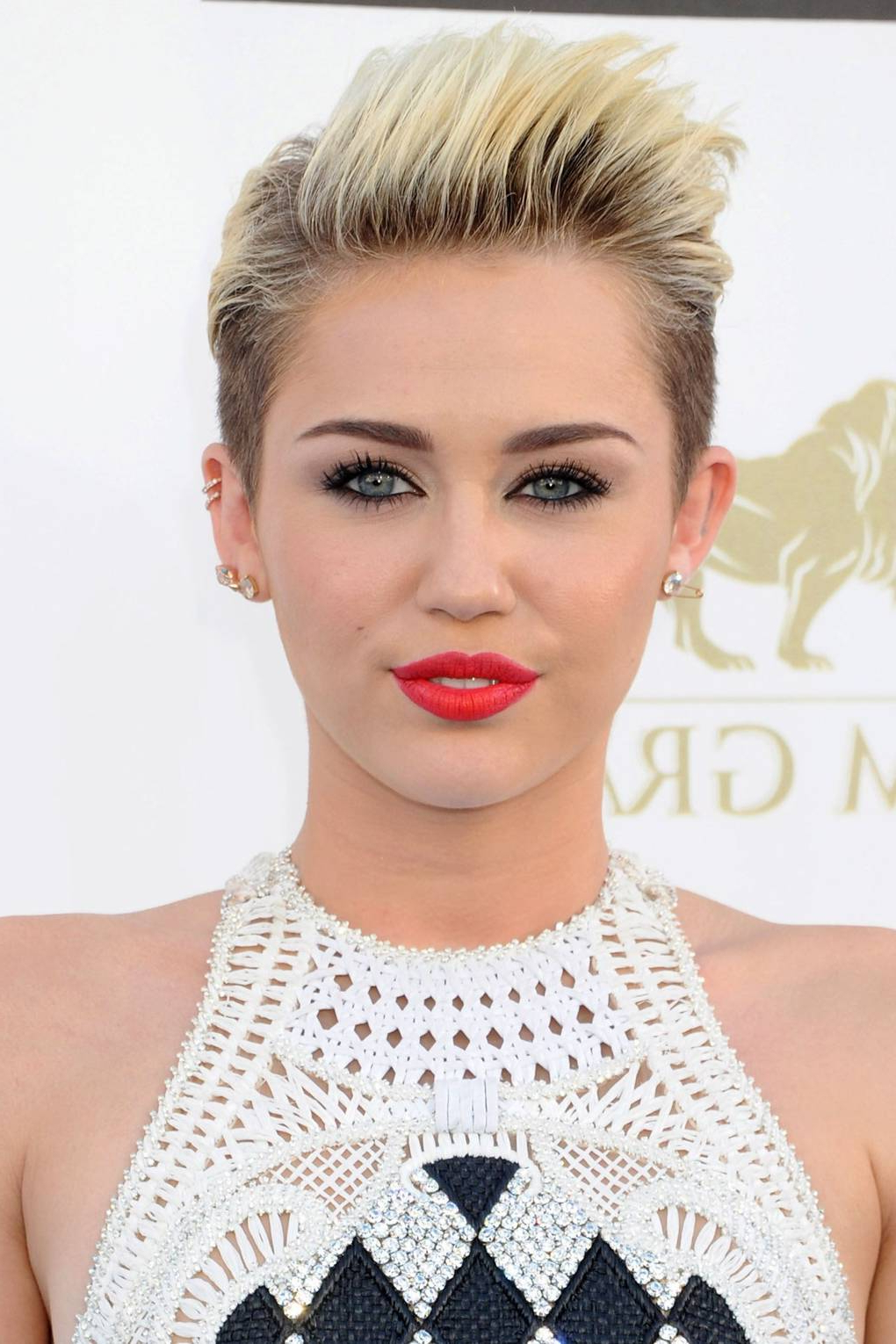 Miley Cyrus Hairstyles – Best Hair, Makeup & Beauty Looks | Glamour Uk Throughout Miley Cyrus Short Hairstyles (View 3 of 25)