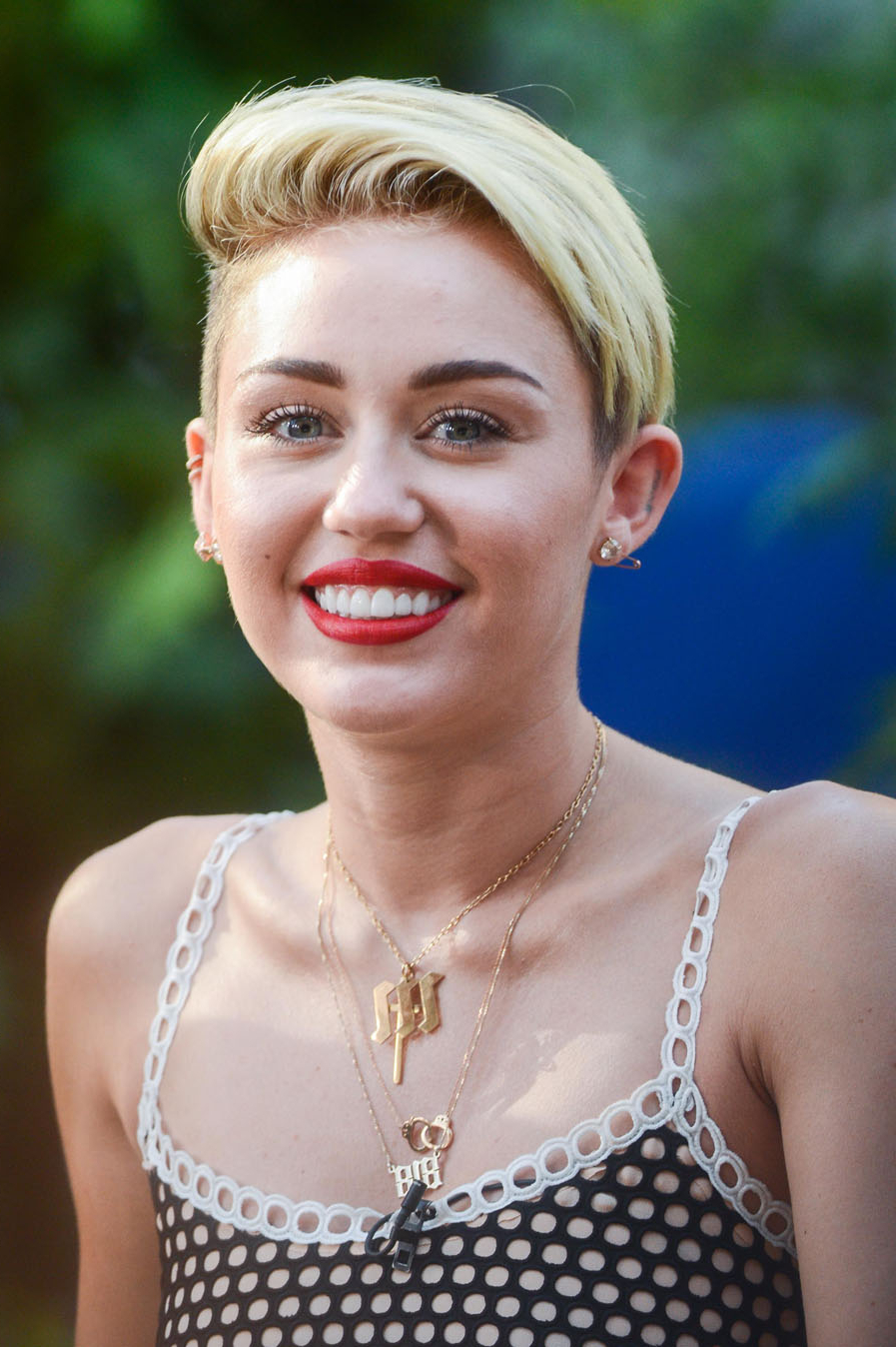 Miley Cyrus Is Already Sick Of Her Short Hair | Stylecaster In Miley Cyrus Short Hairstyles (View 6 of 25)