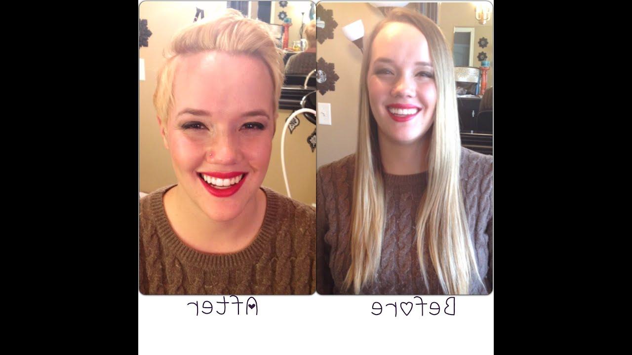 Miley Cyrus/pink Haircut || Long Hair To Short Pixie Haircut In Miley Cyrus Short Hairstyles (View 22 of 25)