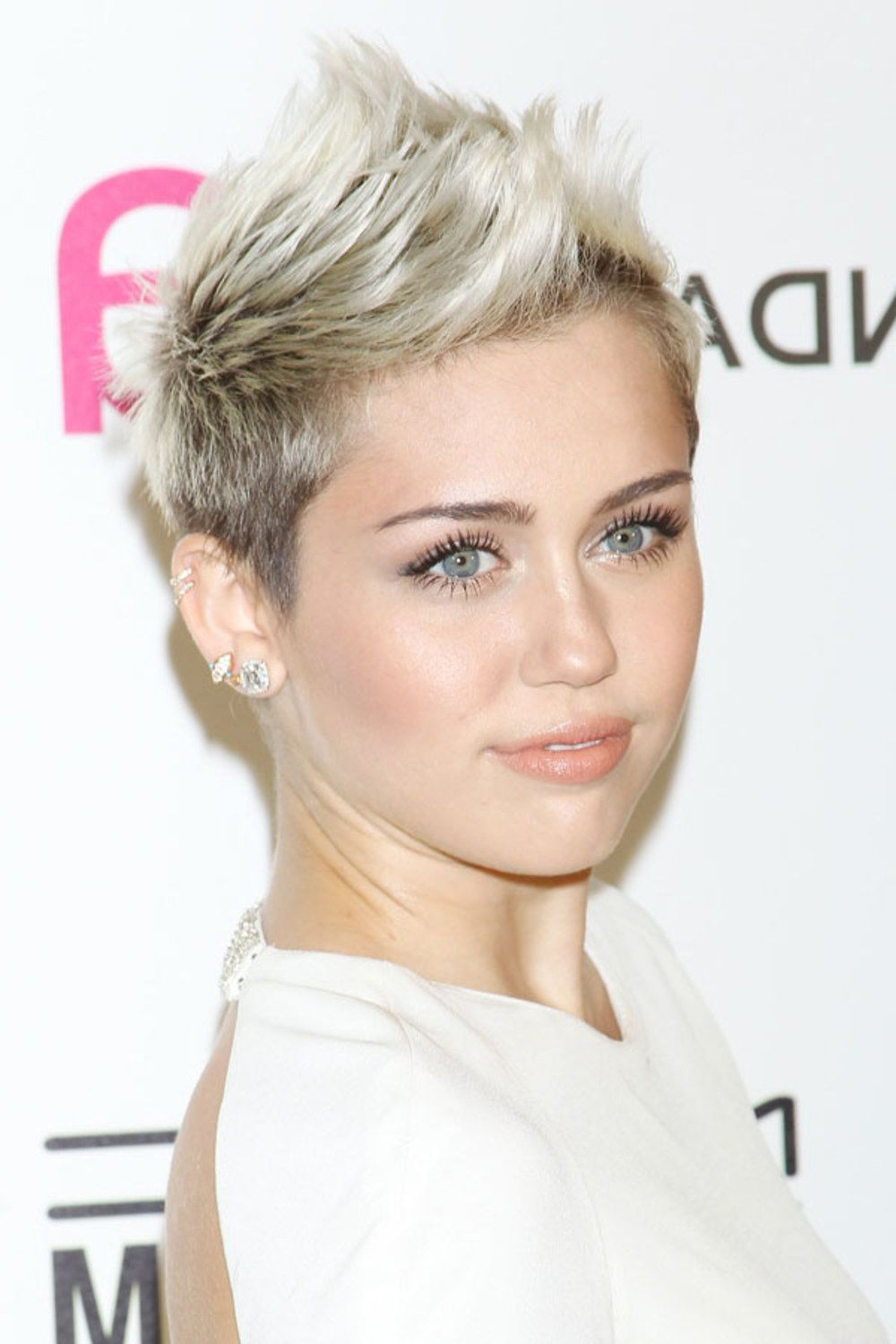 Miley Cyrus Reveals Yet Another Image Overhaul With New Mop Haircut Throughout Miley Cyrus Short Hairstyles (View 8 of 25)