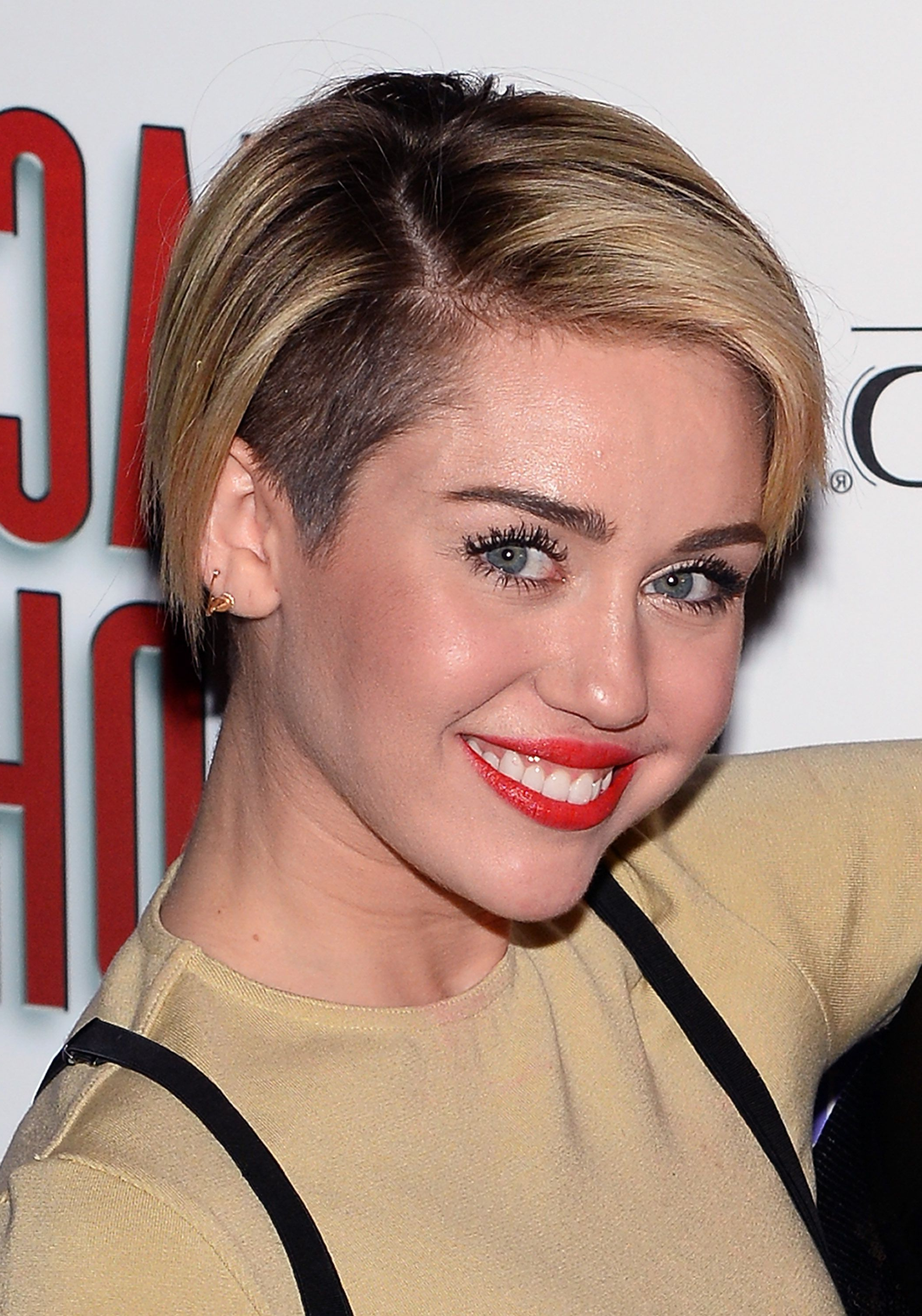 Miley Cyrus Shows Us How To Really Grow Out A Pixie | Cut It Off Inside Miley Cyrus Short Hairstyles (View 2 of 25)