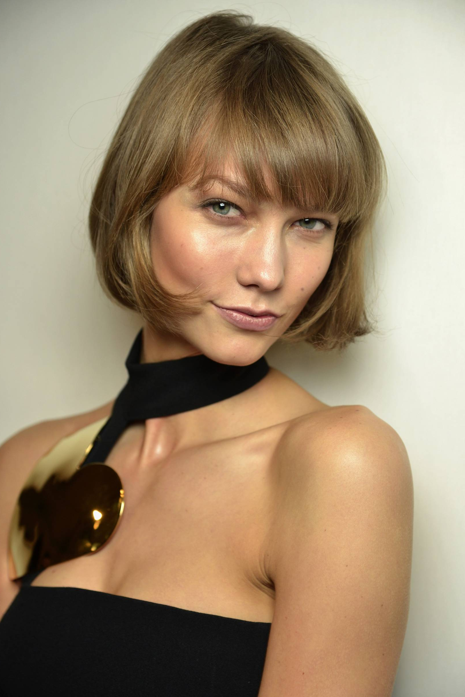 Model Karlie Kloss Cried Over Bob Haircut/hairstyle   British Vogue Intended For Karlie Kloss Short Haircuts (View 6 of 25)
