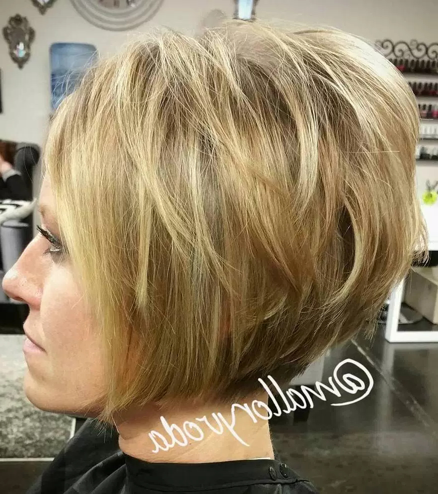 Modern Layered Bob Styles That Are Not Only Beautiful But Low For Teased Short Hairstyles (View 21 of 25)