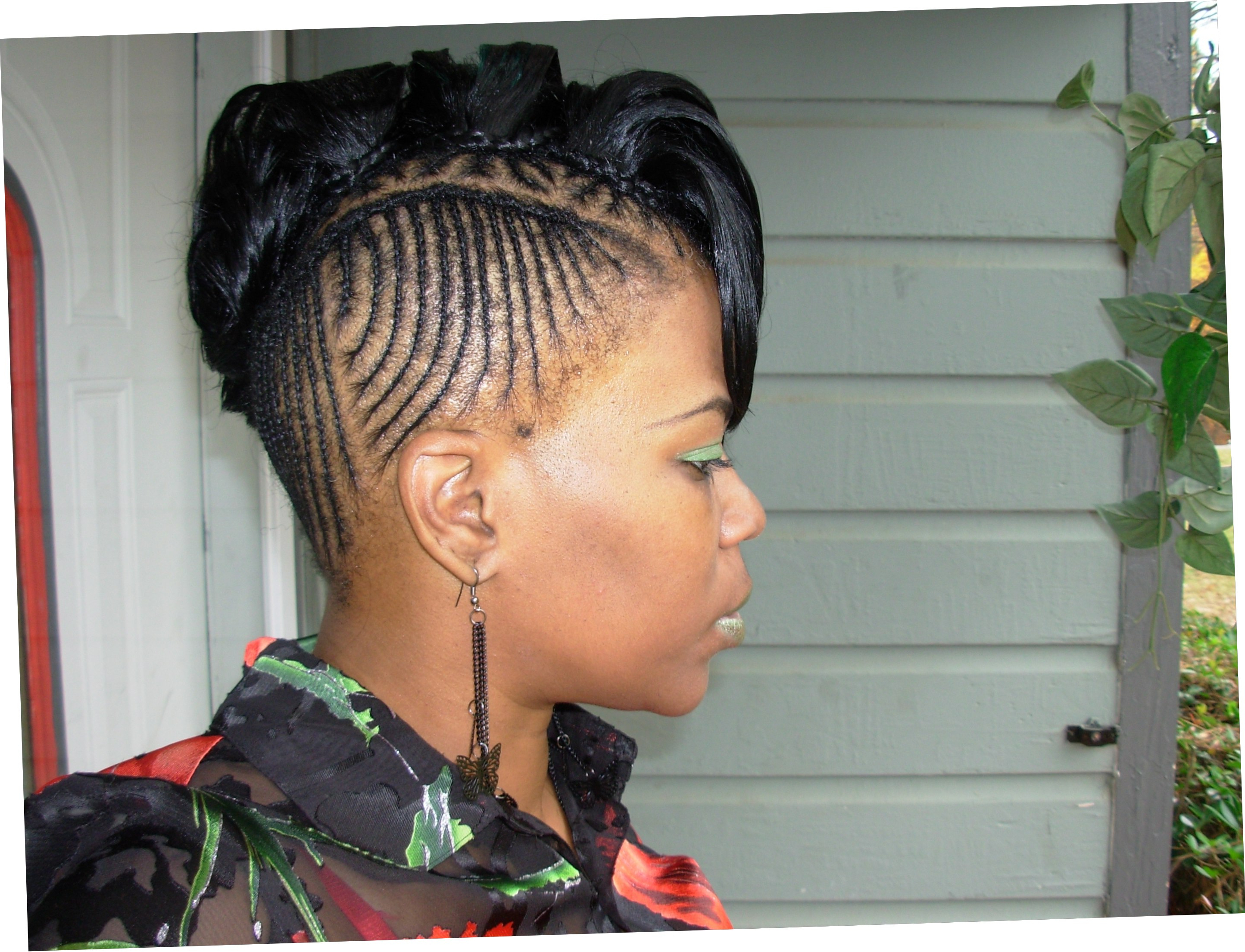 Mohawk Hairstyles For Black Women Curly Short Hair And Stock With Regard To Mohawk Short Hairstyles For Black Women (View 24 of 25)