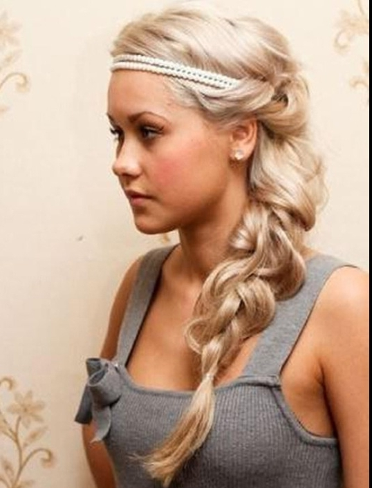 Must Try Messy Side Ponytail Braid Hairstyle In Summer – Thewolfian Within Messy Side Ponytails (View 21 of 25)