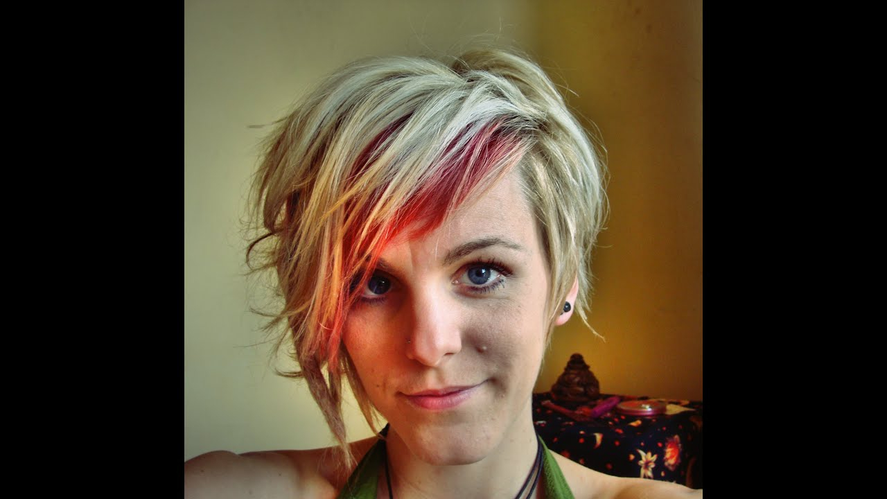 My Short Asymmetrical Haircut! – Youtube In Asymmetrical Short Hairstyles (View 8 of 25)
