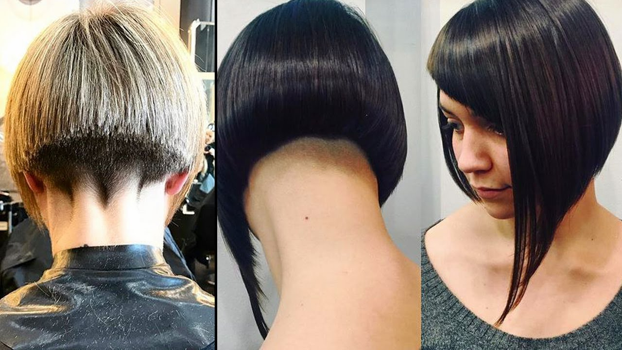 Nape Shaving Women | Extreme Short Nape Haircut | Haircut Women Nape with regard to Curly Pixie Hairstyles With V-Cut Nape