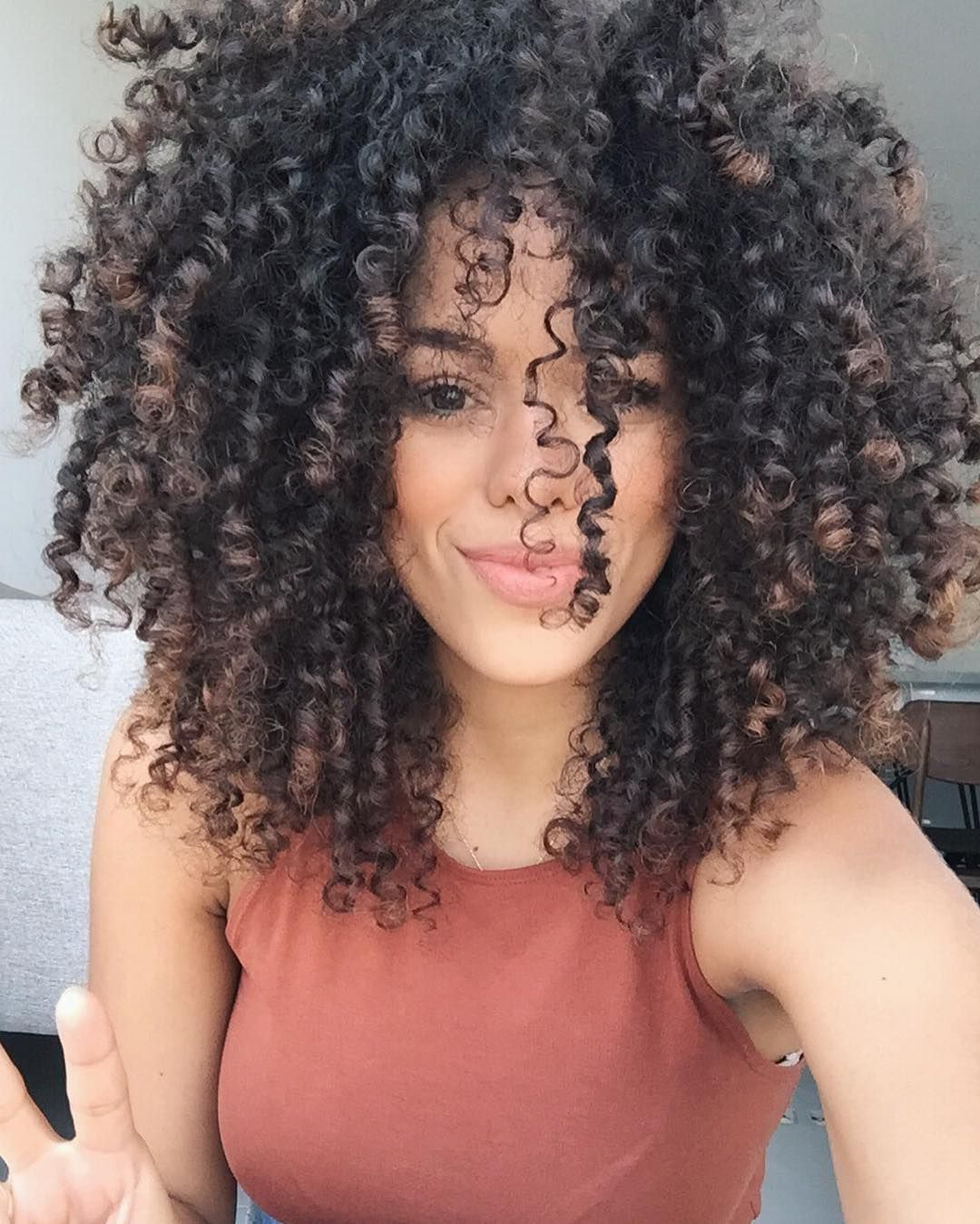Natural Curly Hairstyle Black Woman | Natural Curly Hairstyle With Curly Short Hairstyles Black Women (View 17 of 25)