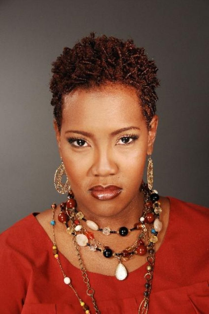 Natural Hairstyles For Short Hair African American - Leymatson inside Short Haircuts For Natural Hair Black Women