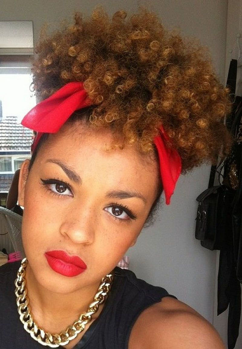 Natural Short Hairstyles For Black Women | Home Design & Hairstyle Intended For Black Women Natural Short Hairstyles (View 7 of 25)