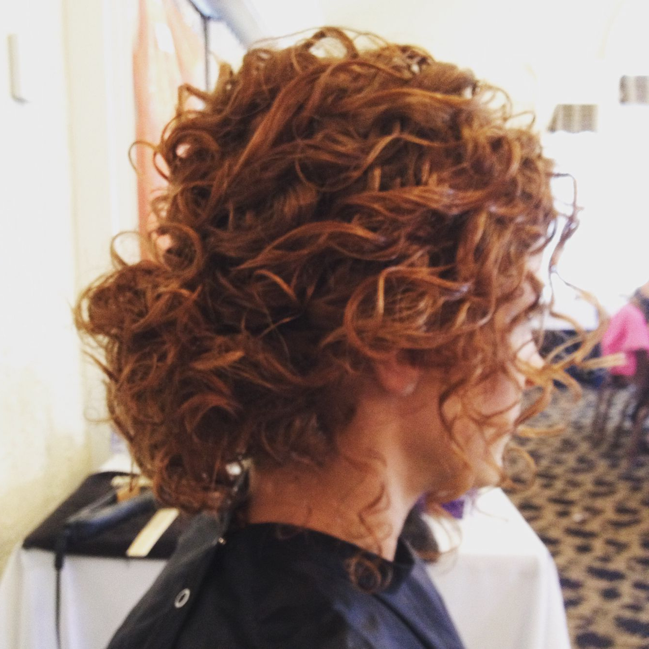 Naturally Curly Hair Low Bun Updo | Hair In 2018 | Pinterest | Curly intended for Short Messy Curly Hairstyles
