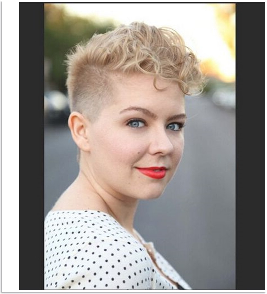Naturally Curly Short Hairstyles - Leymatson throughout Short Hairstyles For Round Faces Curly Hair