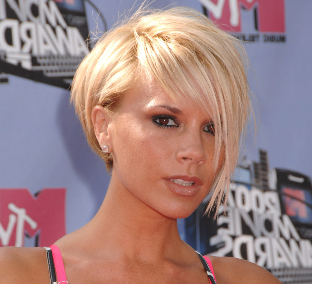 Never Forget That It Was 10 Years Ago When Victoria Beckham Slayed in Posh Spice Short Hairstyles