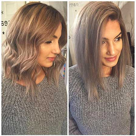 New Ash Blonde Hair Color Ideas | Short Hairstyles & Haircuts 2018 regarding Long Messy Ash Blonde Pixie Haircuts