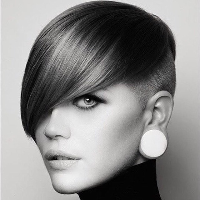 New Bowl Haircuts For 2017 | 2019 Haircuts, Hairstyles And Hair Colors within Sweeping Pixie Hairstyles With Undercut