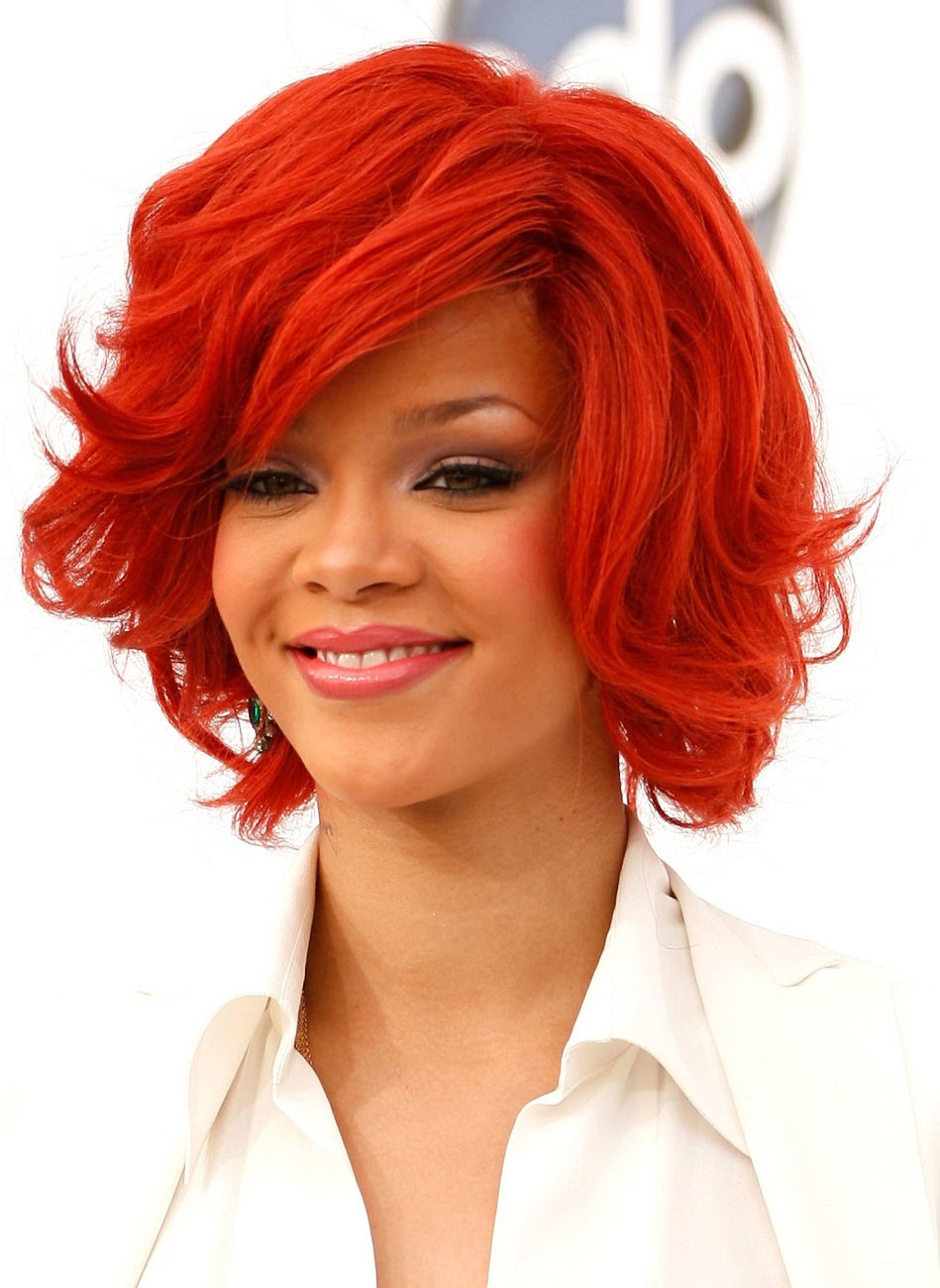 New Haircut Style » Hair Color 2011: The Hottest Trends intended for Bright Red Short Hairstyles