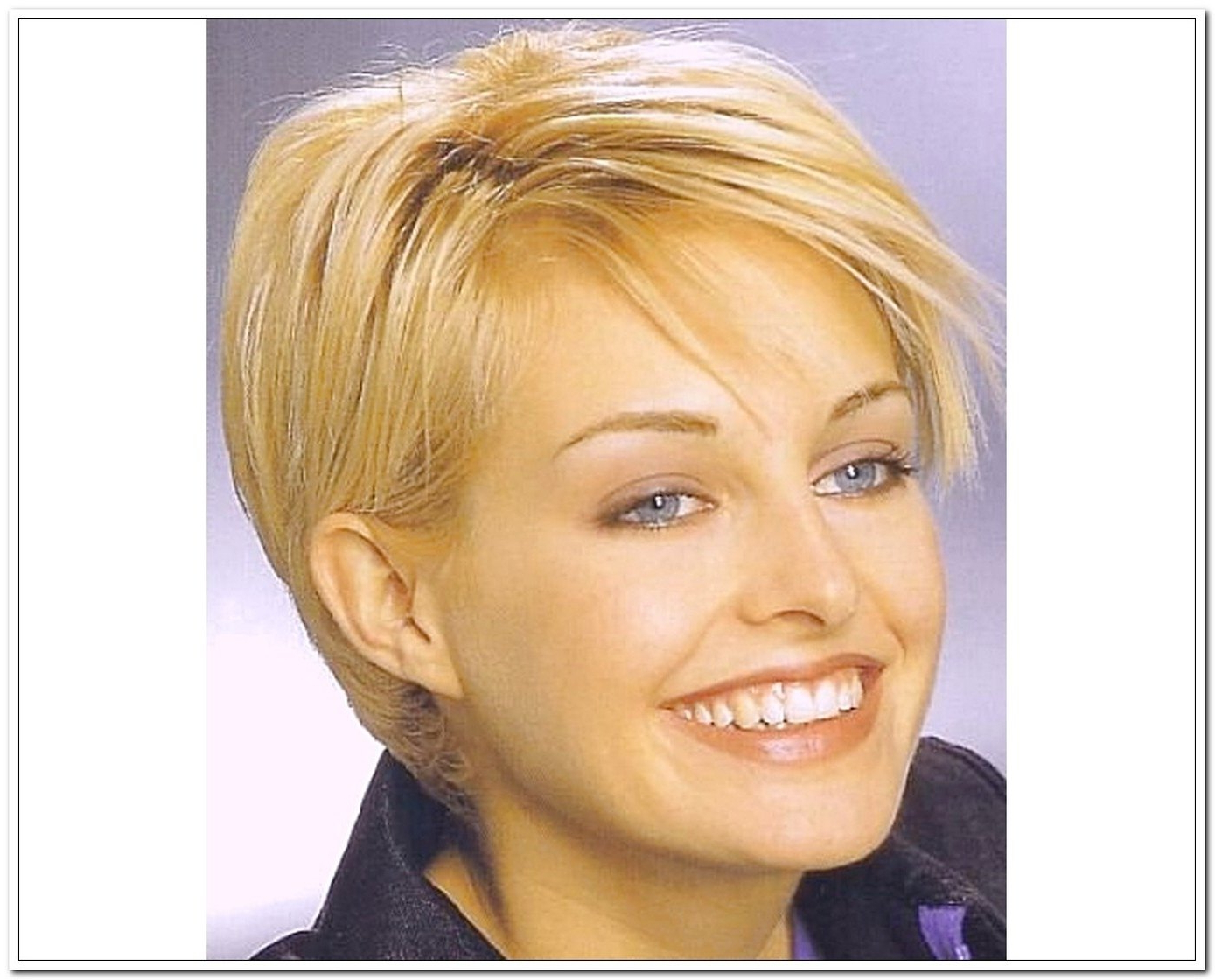 New Short Haircuts For Fat Faces And Double Chins within Short Hairstyles For Fat Faces And Double Chins