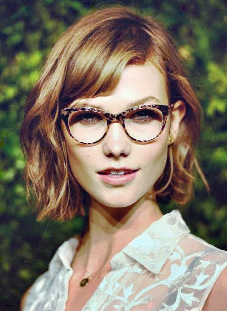 New Short Hairstyles For Women With Glasses | Hair | Pinterest inside Short Haircuts For Glasses