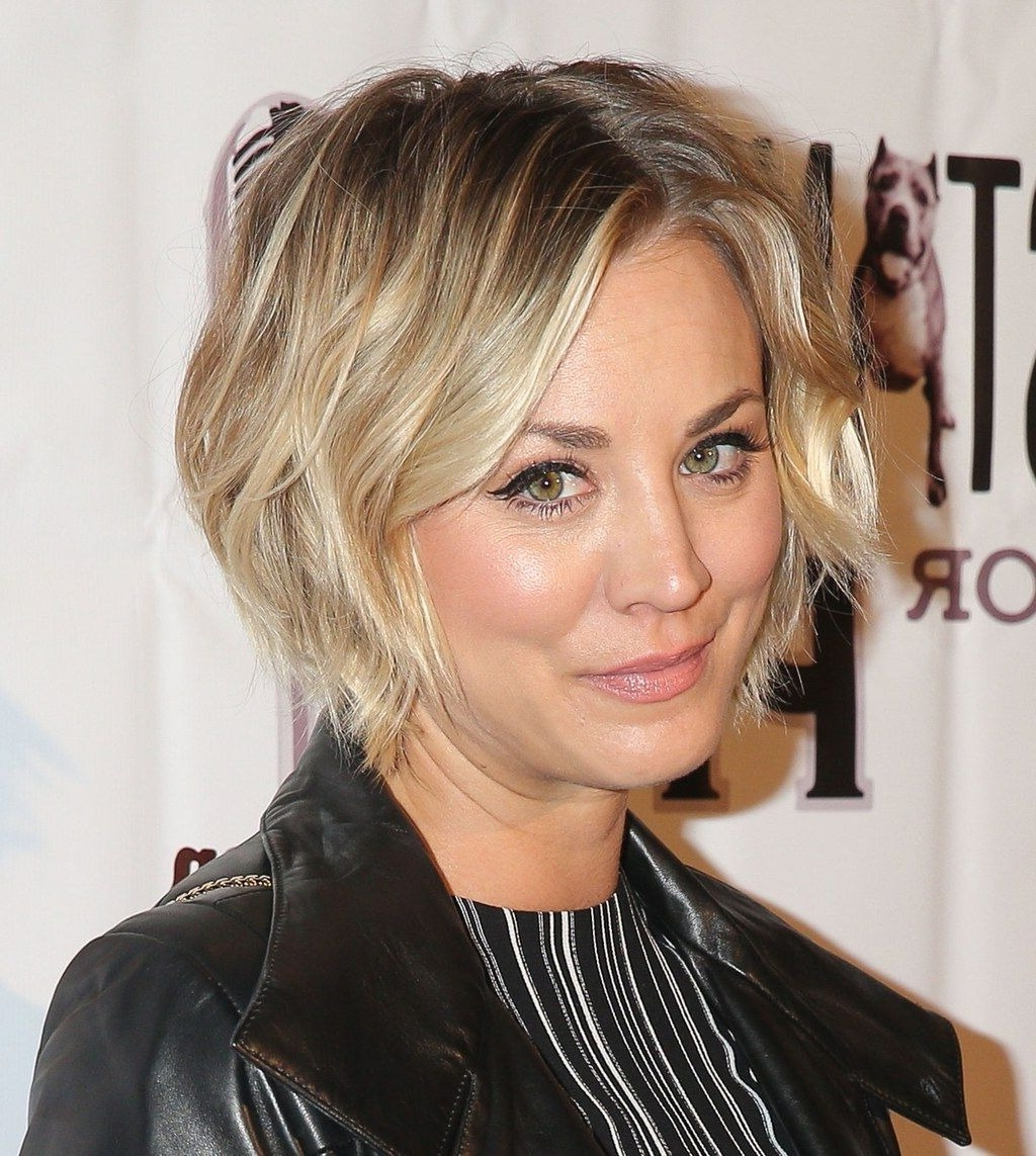 New Short Hairstyles Kaley Cuoco To Try In 2018 | Hairstyles In Kaley Cuoco New Short Haircuts (View 3 of 25)