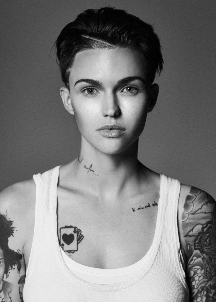 New Short Hairstyles Ruby Rose Ideas | Hairstyles With Regard To Ruby Rose Short Hairstyles (View 7 of 25)