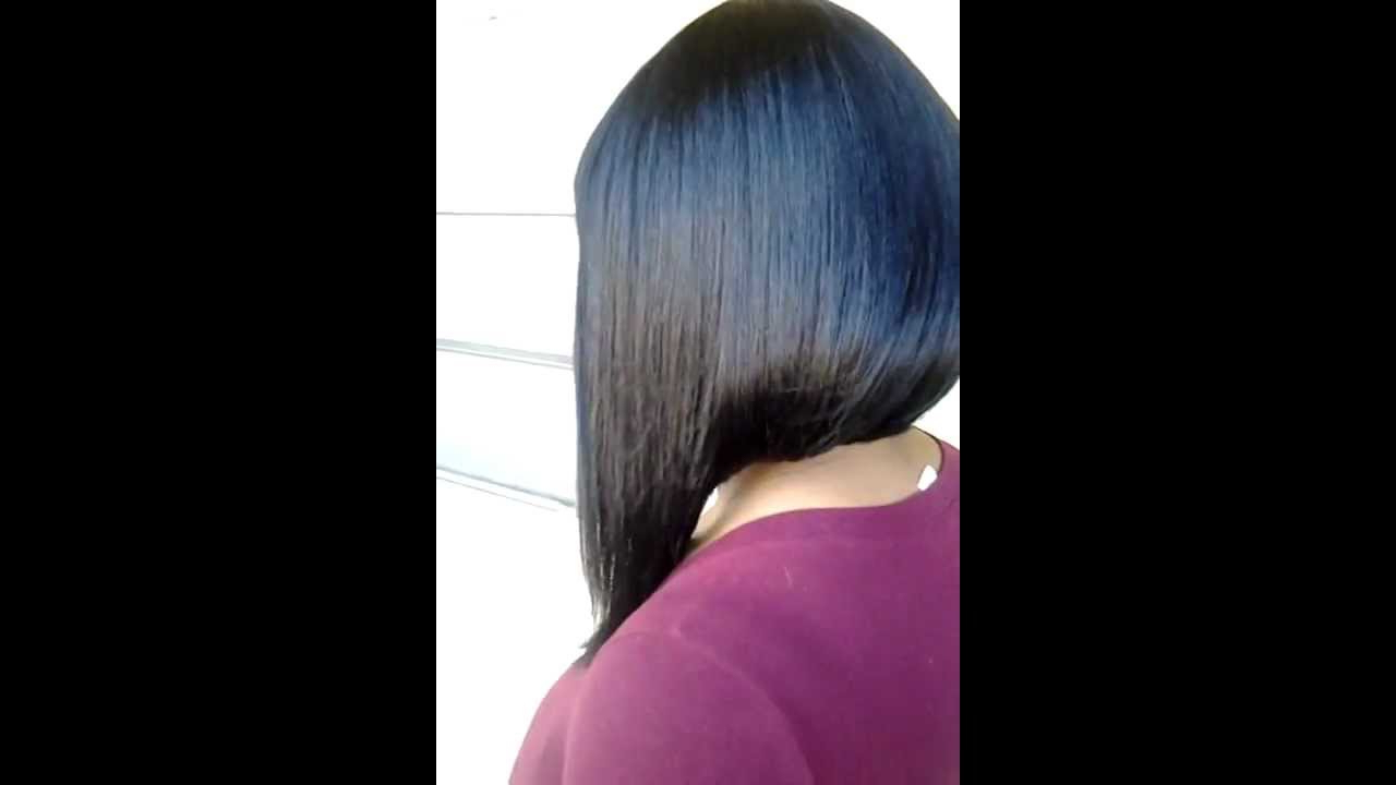 Nicki Minaj Bob Hair Style – Youtube Intended For Nicki Minaj Short Haircuts (View 14 of 25)
