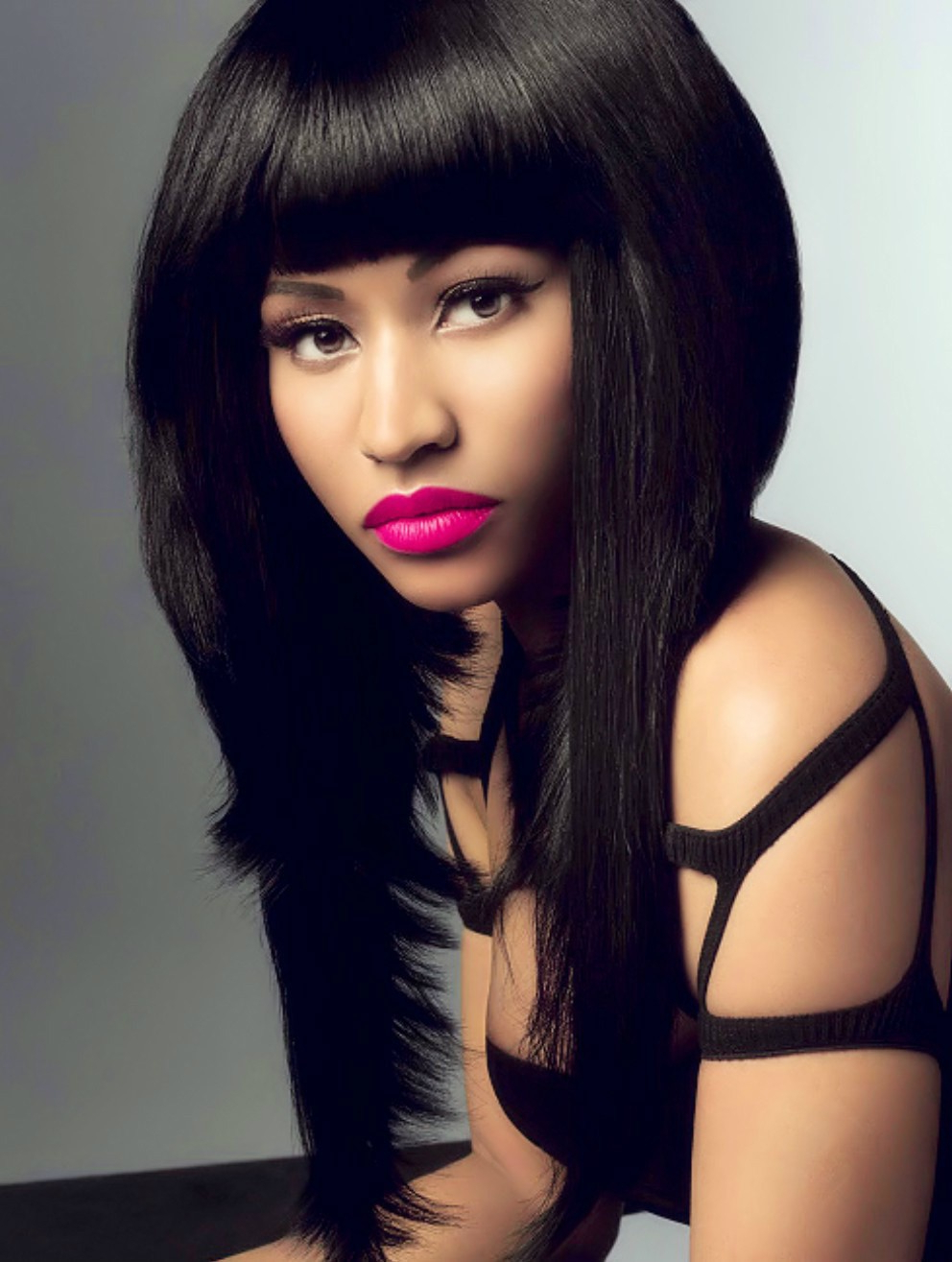 Nicki Minaj Bob Style Short Brazilian Hair Lace Wig[Cbw01 With Nicki Minaj Short Haircuts (View 4 of 25)