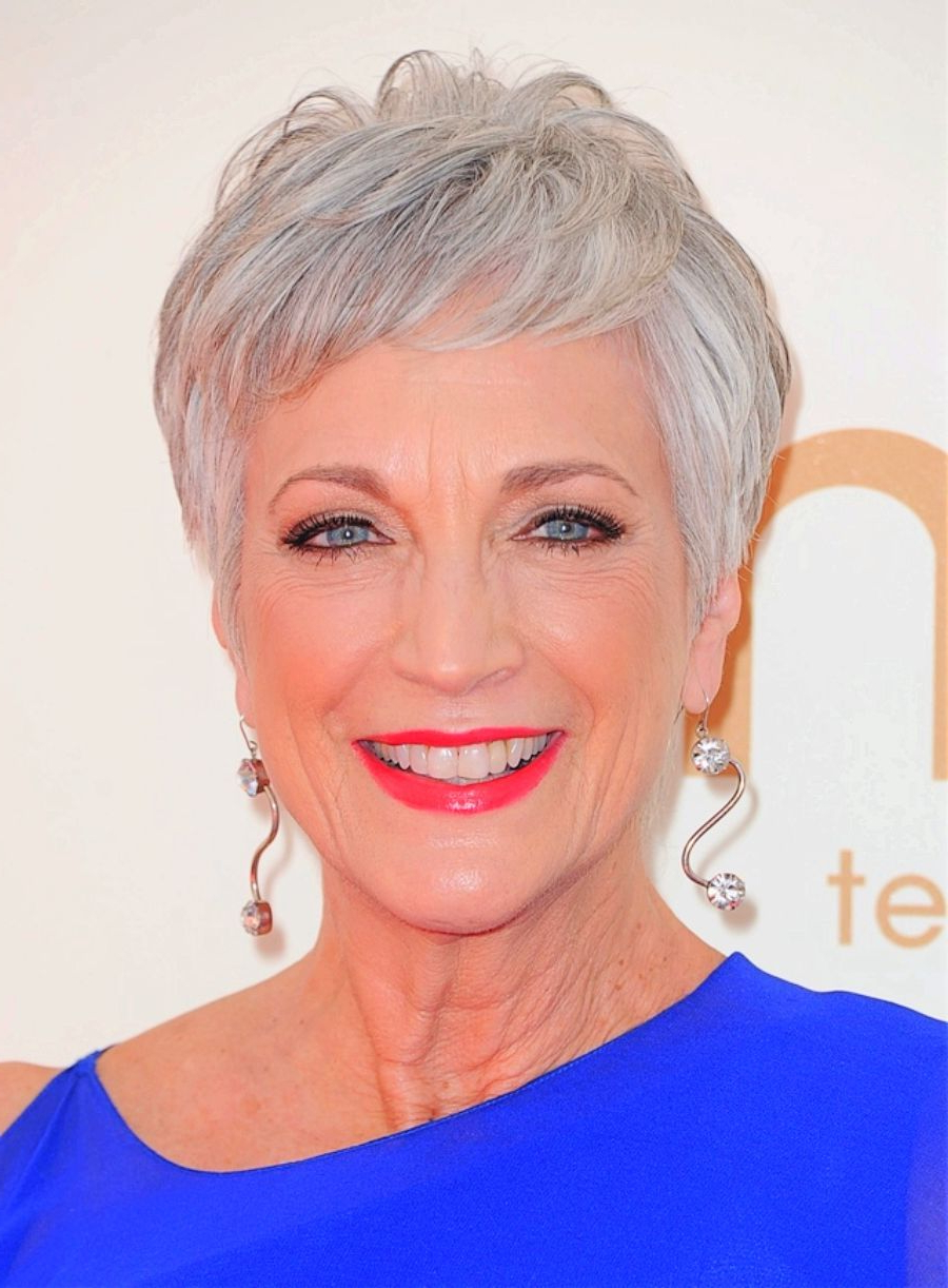 Older Women Short Hairstyles Gray Hair | Womens Hairstyles Within Gray Short Hairstyles (View 11 of 25)