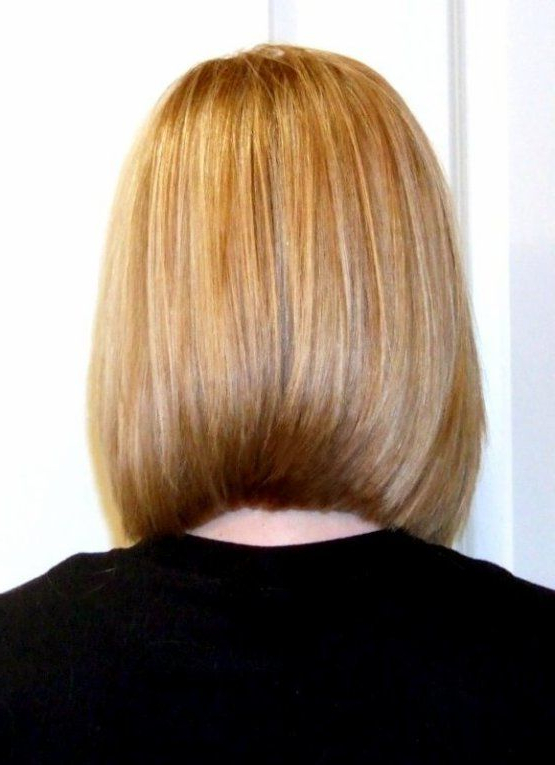 One Length A-Line Bob Slightly Beveled To Curve Under | Hair Matters with regard to A-Line Amber Bob Haircuts