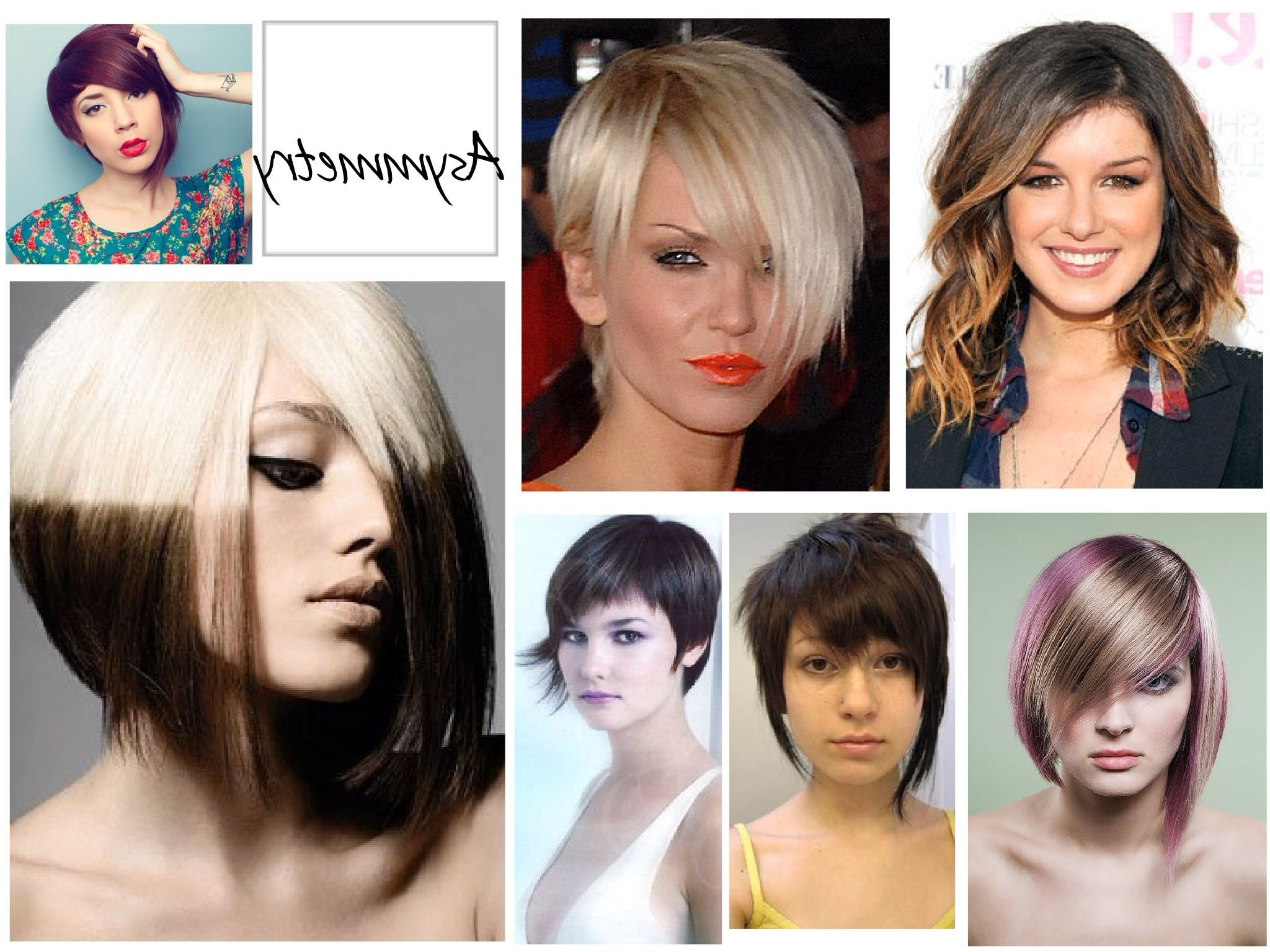 One Side Longer Than The Other! | Short Cuts We <3 | Pinterest for Short Haircuts With One Side Longer Than The Other